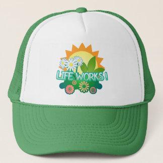 Boné Trabalhos duma vida! Chapéu do camionista