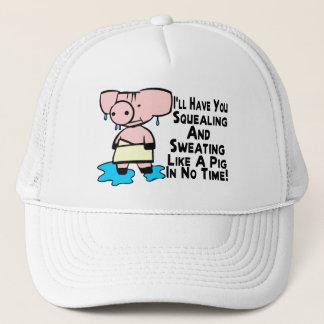Boné Transpiração como um porco