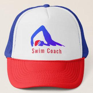 Boné Treinador da natação - personalizado com suas