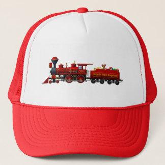Boné trem expresso do Natal do Pólo Norte
