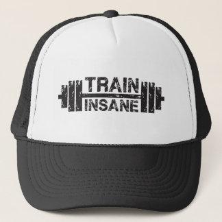 Boné Trem insano - Barbell, Gym, exercício inspirado
