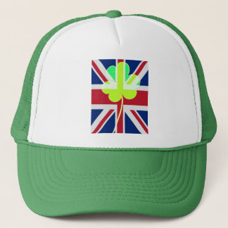 Boné Trevo britânico irlandês St Patrick Reino Unido do