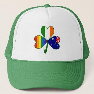 Boné Trevo irlandês australiano do orgulho gay