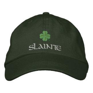 Boné Trevo slainte St Patrick irlandês
