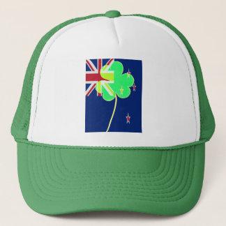 Boné Trevo St Patrick do trevo da bandeira de Nova