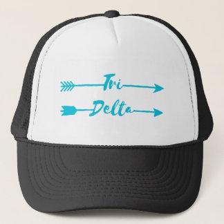 Boné Tri setas do delta |