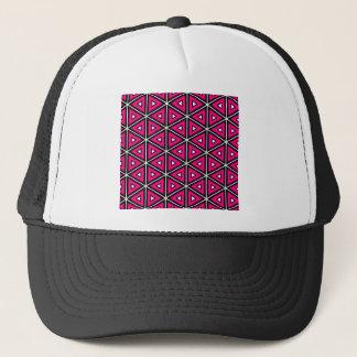 Boné Triângulos do rosa quente