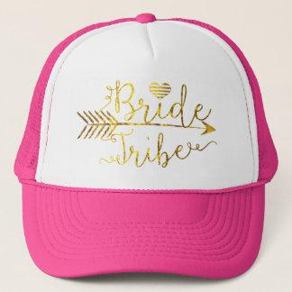 Boné Tribo da noiva do ouro com seta