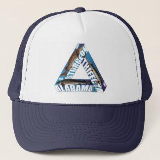 Boné Trifecta do esturjão de Alabama - azul - chapéu do