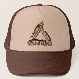 Boné Trifecta do esturjão de Alabama - chapéu do