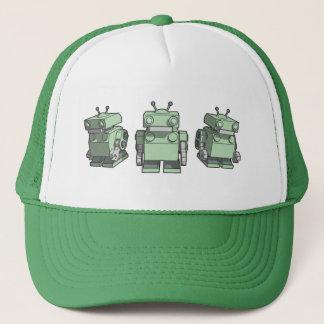 Boné Trio do robô