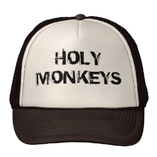 Boné trucker Holy Monkeys