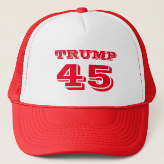 "Boné ""Trunfo 45"" presidente Donald J. Trunfo no"