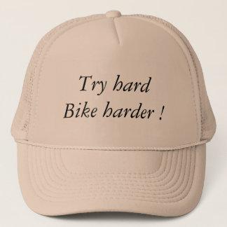 Boné Try hard Bike Harder
