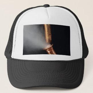 Boné Tubulação de cobre com vapor