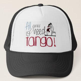 Boné Tudo que você precisa é citações do tango