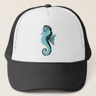 Boné turquesa do cavalo marinho