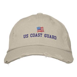 Boné U.S. Chapéu bordado guarda costeira