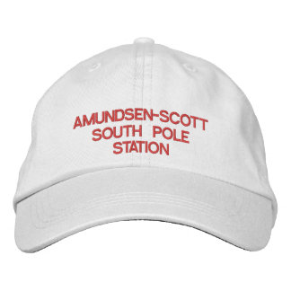 Boné U.S. Chapéu da estação de Amundsen-Scott pólo sul