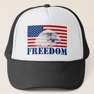 Boné U.S. Chapéu da LIBERDADE da bandeira & do Eagle