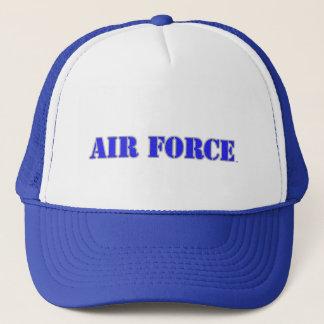 Boné U.S. Chapéu do camionista da força aérea