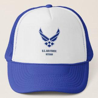 Boné U.S. Chapéu do veterano da força aérea