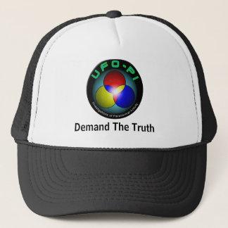 Boné UFO-PI: Exija a verdade