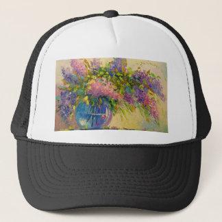 Boné Um buquê dos lilacs