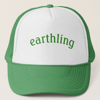 Boné um chapéu do lugar geográfico cósmico
