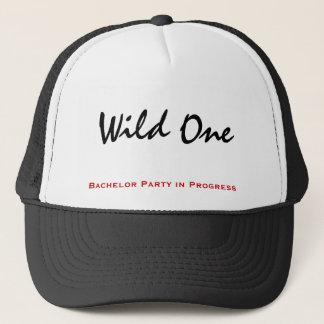 Boné Um chapéu selvagem do solteiro
