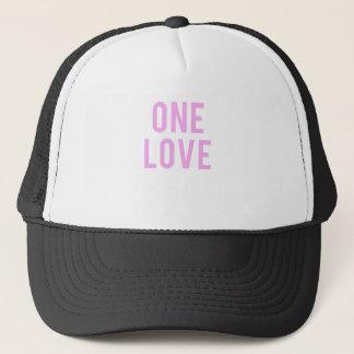 Boné Um impressão cor-de-rosa do amor