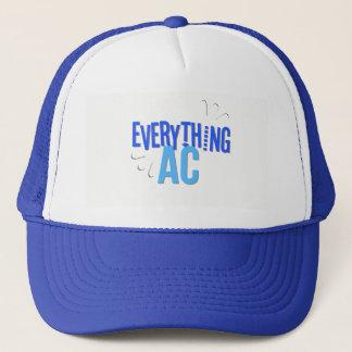 Boné Um tudo azuis marinhos do chapéu do camionista da