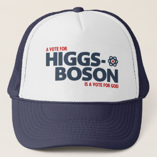 Boné Um voto para o Higgs-Boson é um voto para o deus!
