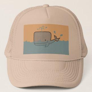 Boné Uma baleia de um chapéu
