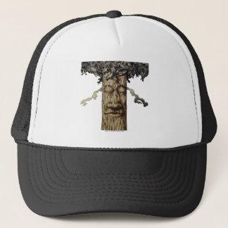 Boné Uma capa poderosa da árvore