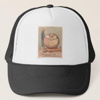 Boné Uma esfera, projetando-se contra um plano