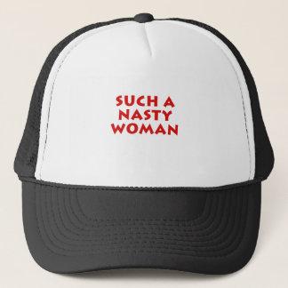 Boné Uma mulher tão desagradável