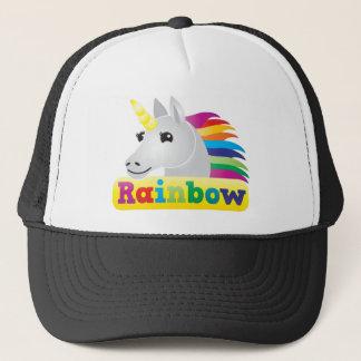 Boné Unicórnio do arco-íris