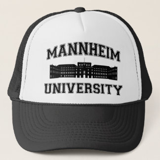 Boné Universität Mannheim/universidade de Mannheim