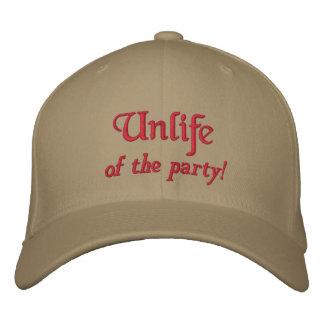 Boné Unlife, do partido!