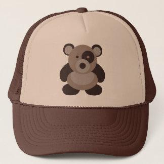 Boné Urso de panda de Brown