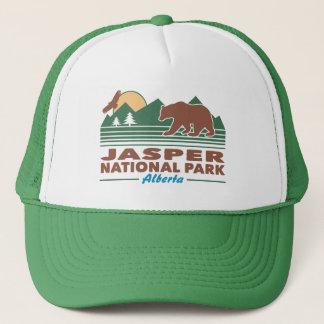 Boné Urso do parque nacional de jaspe