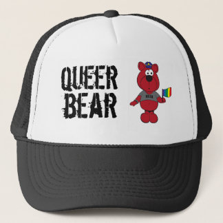 Boné Urso estranho