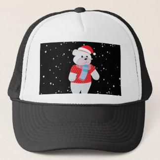 Boné urso polar