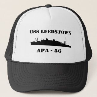 Boné USS Leedstown - APA 56 - chapéu