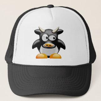 Boné Vaca do pinguim com chifres