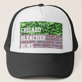 Boné Vagabundos do Bleacher de Chicago - camionista