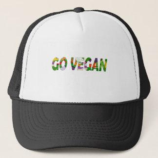 Boné Vai o vegan