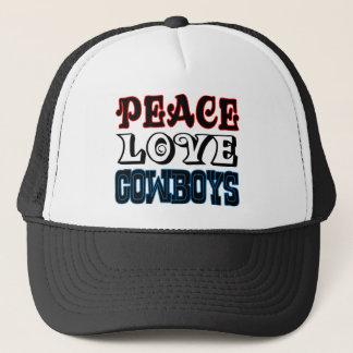Boné Vaqueiros do amor da paz