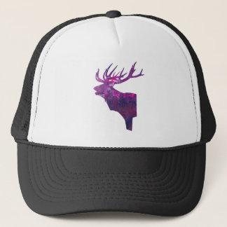 Boné Veado principal dos cervos no lilac